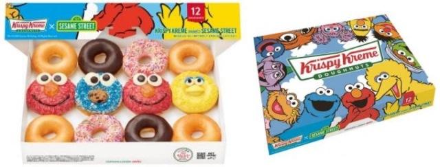 Meet your favorite Sesame Street characters at Krispy Kreme