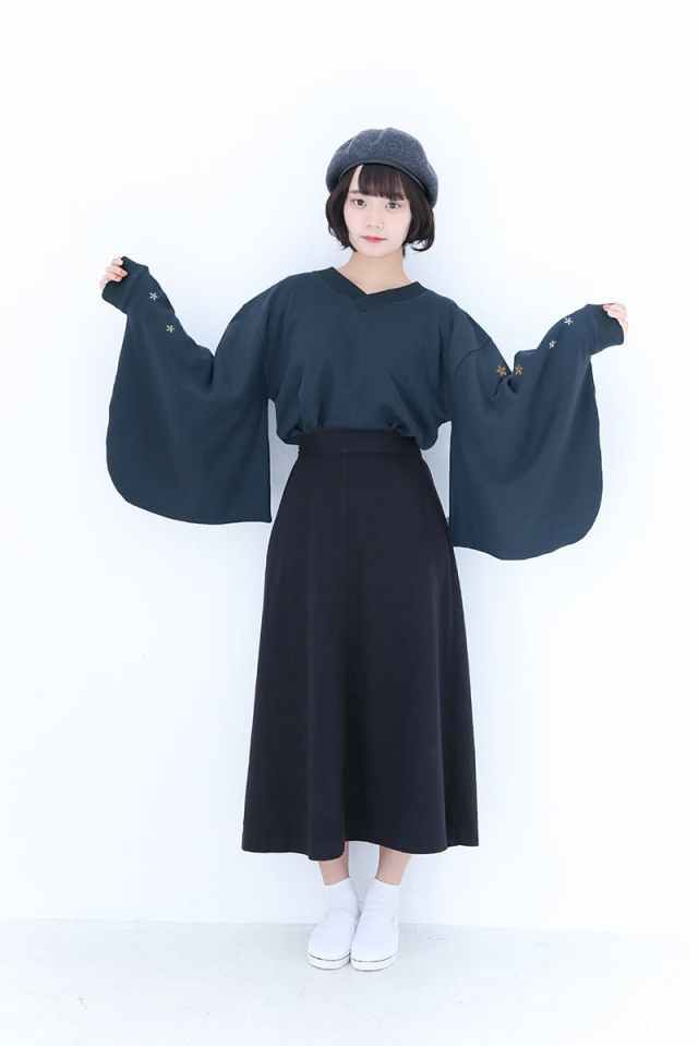 Furisode Kimono Sweaters Combine Traditional Fashion With Modern