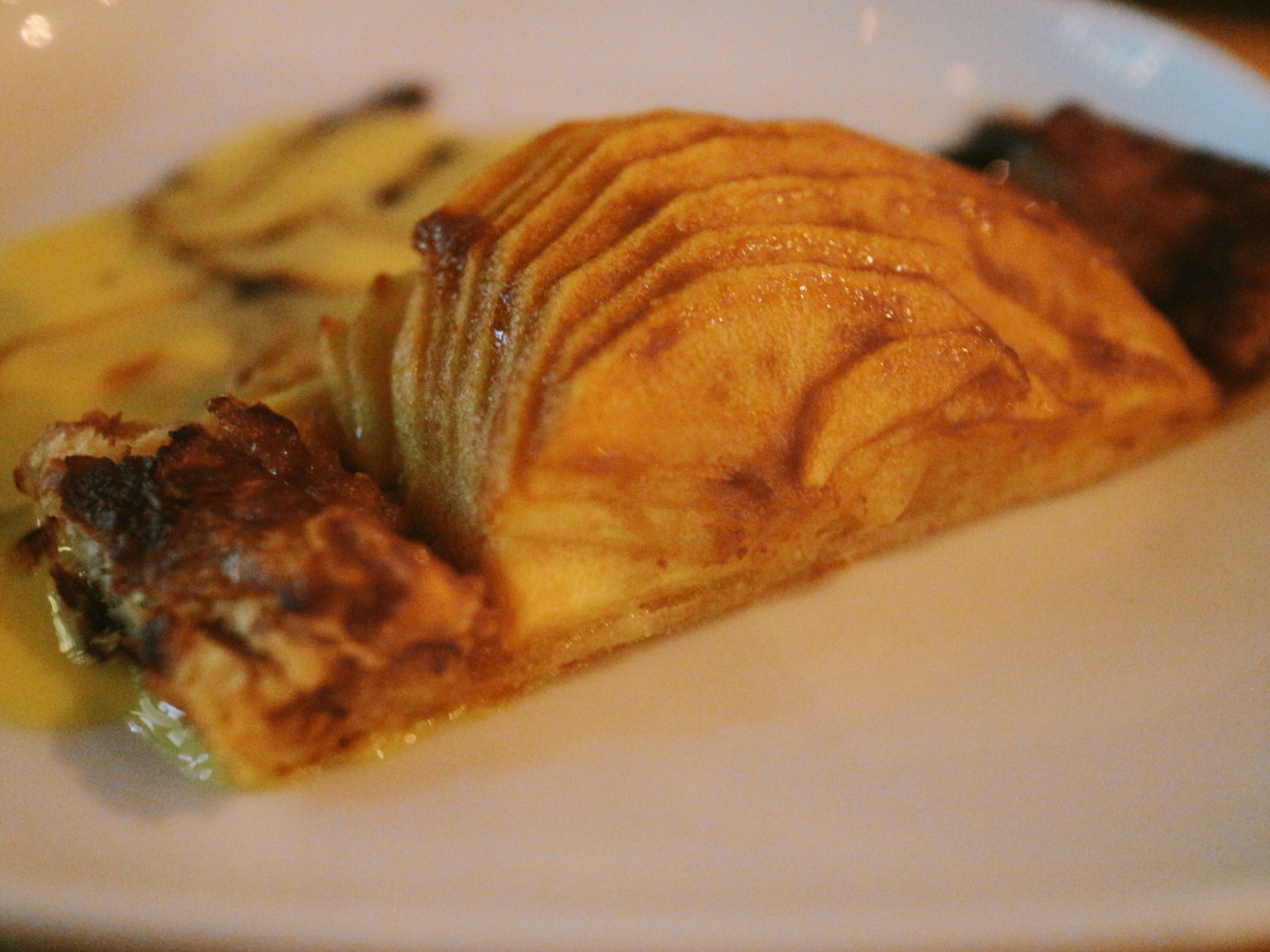 Apple and almond tart at Crowley's California Kitchen .jpg