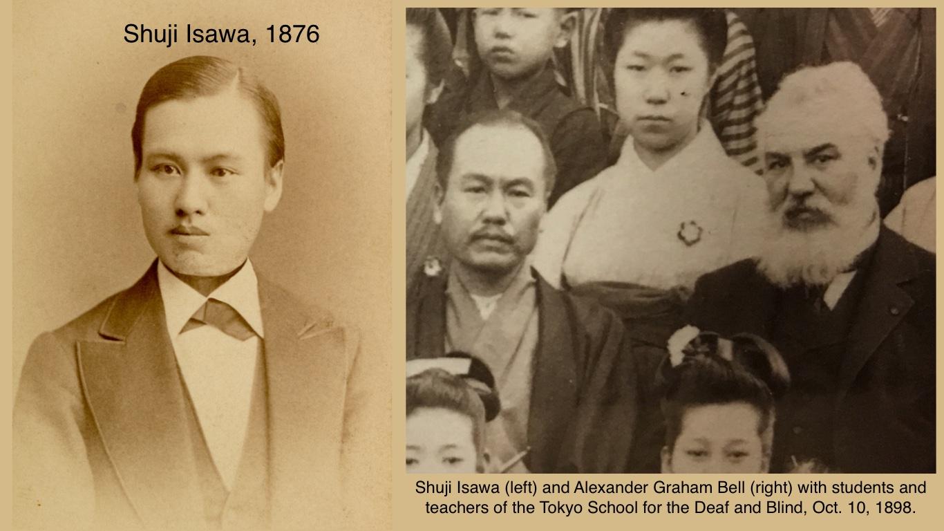 Shuji Isawa and A.G. Bell.jpg