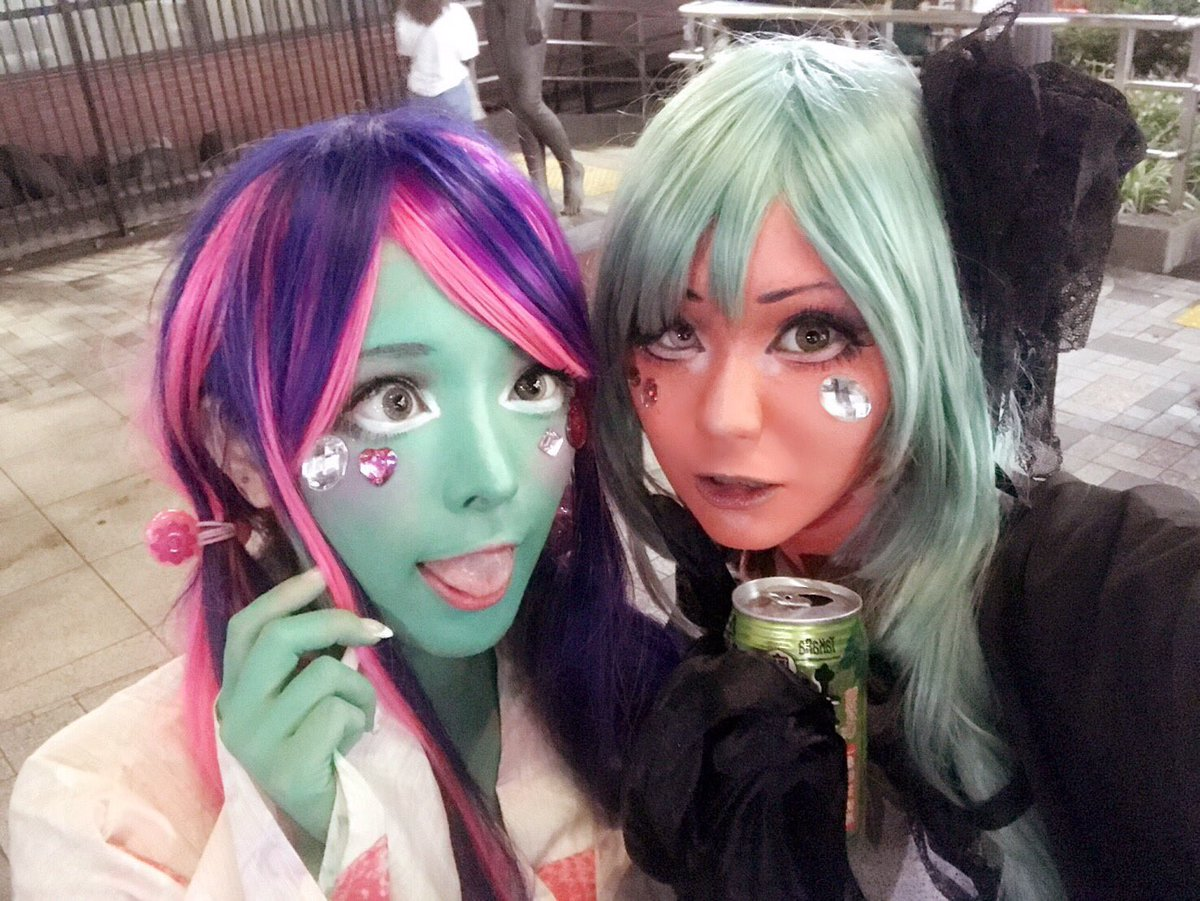 Japans Unique Skin Girls Bring Their Brightly Colored Complexions