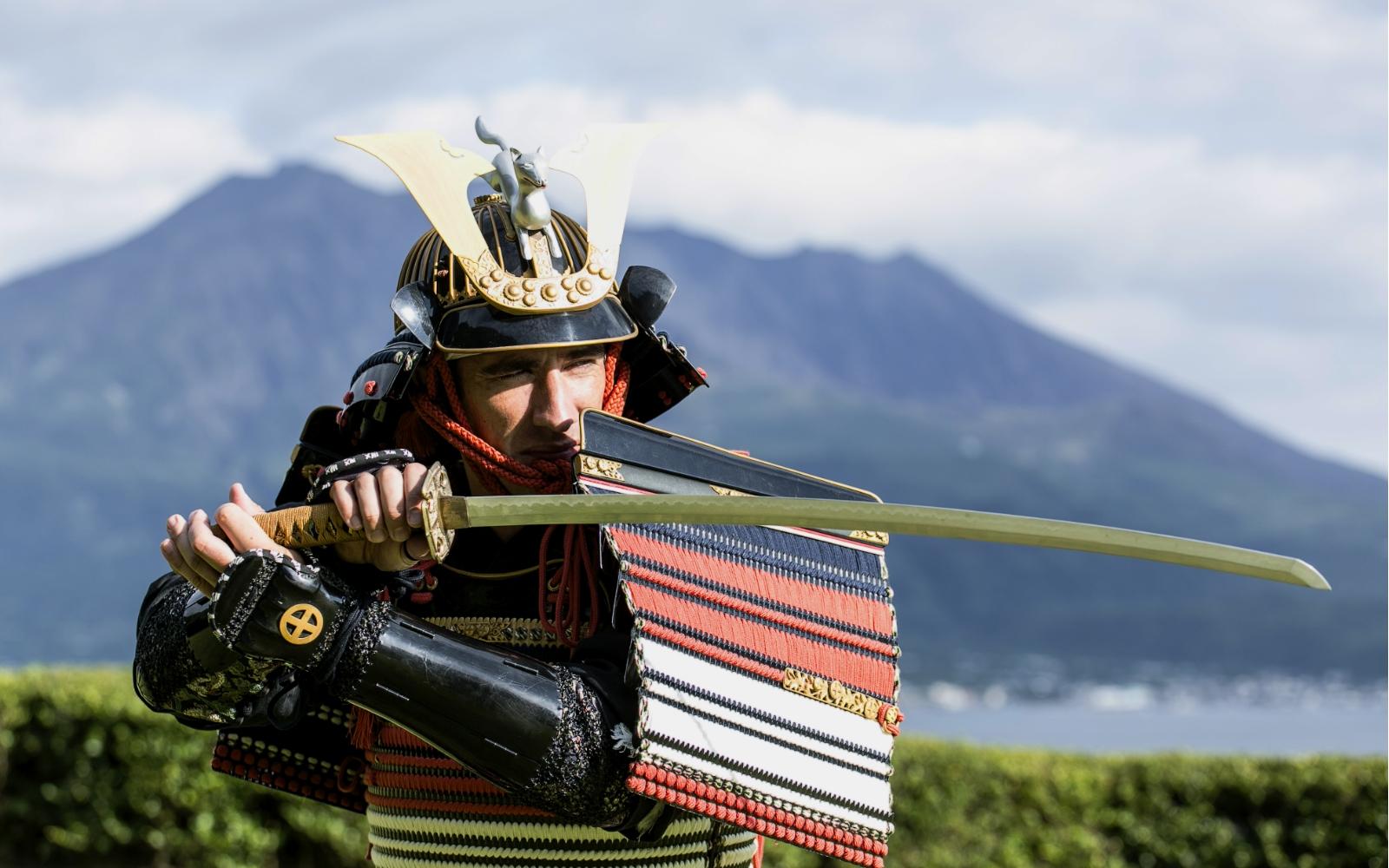 Samurai armor experience at Sengan-en.jpg